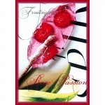 Rose Passion Fruitsiqles - Snoep (luxe geschenkdoos - 10 luxe Fruit Lollie`s - Hard Candy)