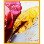 Sunset Orange Fruitsiqles - Snoep (luxe geschenkdoos - 10 luxe Fruit Lollie`s - Hard Candy)